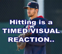 Hitting is a Timed Visual Reaction Language Of Hitting Dave Kirilloff Alex Kirilloff Hitting Drills for TIMING baseball training online hitting coach mike trout swing