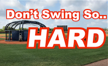 Don't Swing Hard Language Of Hitting Dave Kirilloff Alex Kirilloff Hitting Drills for TIMING baseball training online hitting coach mike trout swing