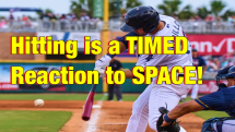 Hitting is a Timed Reaction to Speed and Space Language Of Hitting Dave Kirilloff Alex Kirilloff Hitting Drills for TIMING baseball training