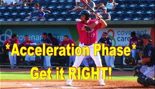 Acceleration phase Language Of Hitting Dave Kirilloff Alex Kirilloff Hitting Drills for TIMING baseball training