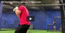 Dave Kirilloff Alex Kirilloff Will Vierling Wisconsin Language Of Hitting