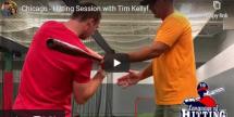 Hitting Session with Tim Kelly in Chicago Language Of Hitting Dave Kirilloff Alex Kirilloff